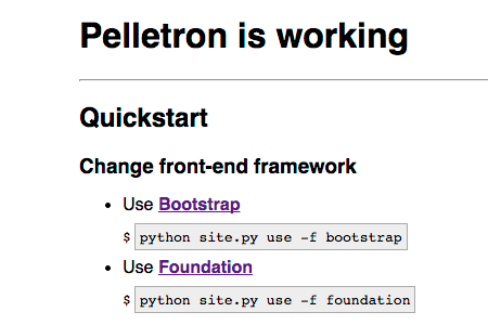 Pelletron screenshot